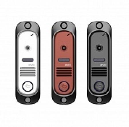 DVC-414 Color, Вызывная панель видеодомофона, PAL, 600 Твл, накладная, башня, уголок, козырёк.